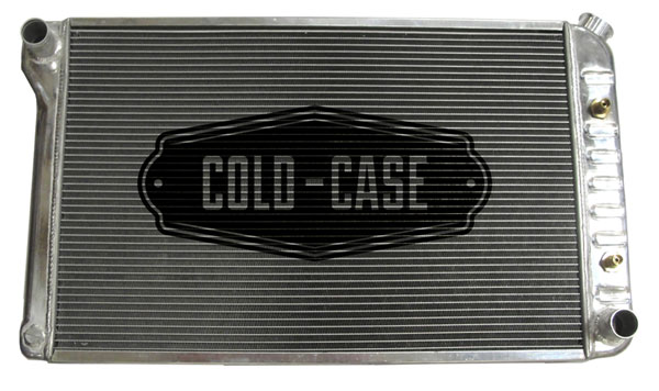 Cold-Case Radiators (RFE19L)  Firebird Aluminum High Performance Radiator Tri Flow, 1970-81 AT
