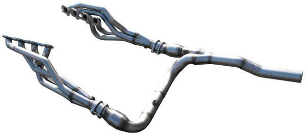 American Racing Headers RM25-09134300LSWC |  Dodge Ram 2500 2009-2013 Long System With Cats, 1-3/4in x 3in Header Pair, 3in Y-Pipe With Cats