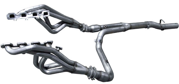 American Racing Headers RM64-15134300LSWC |  Dodge Ram 2500 6.4L/5.7L Long System With Cats, 1-3/4in x 3in Header Pair, 3in Y-Pipe With Cats; 2015-2017