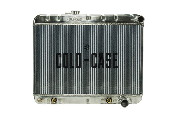 Cold-Case Radiators GPG22A |  Pontiac GTO Aluminum Radiator, 1964 All AT, 1965 AT Cars with AC