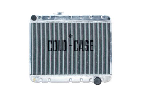 Cold-Case Radiators GPG34 |  Pontiac GTO Aluminum Radiator, 1966-67 MT w/o AC