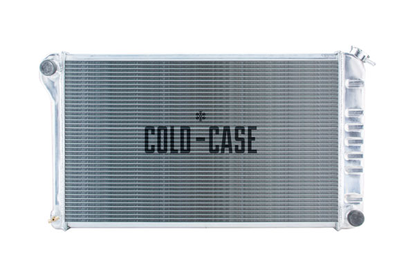 Cold-Case Radiators (RPE42L-Chevelle)  Chevelle Aluminum High Performance Radiator Tri Flow, 1968-72 MT