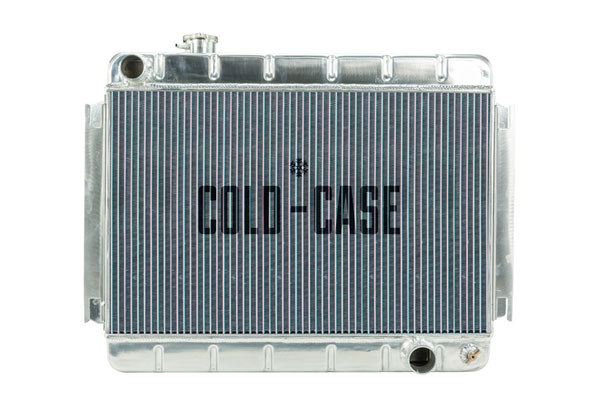 Cold-Case Radiators CHE542A |  Chevelle Aluminum Radiator, AT; 1966-1967