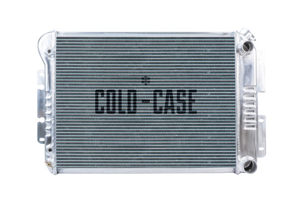 Cold-Case Radiators CHC547A |  Camaro LS Swap Aluminum Radiator; 1967-1969