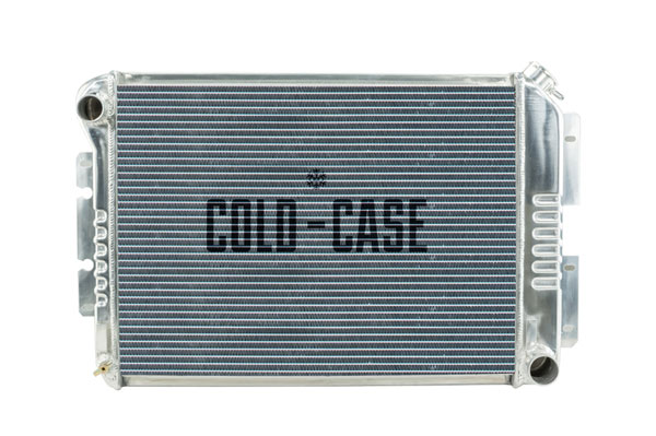 Cold-Case Radiators CHC549 |  Camaro Aluminum Radiator, SB MT; 1967-1969