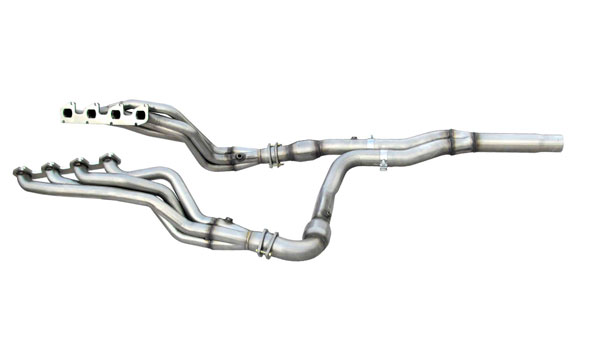 American Racing Headers RPT-11178300LSWC:  Ford Raptor 6.2L 2011-UP Long System With Cats: 1-7/8in x 3in Header Pair, 3in YPipe With Cats