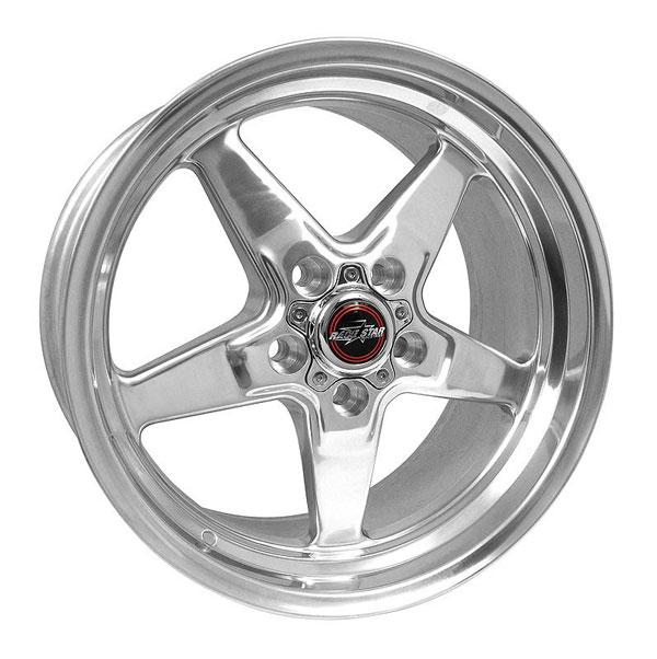 Race Star 92-795452DP | 92 Drag Star 17x9.50 5x115bc 6.13bs Direct Drill Polished Wheel