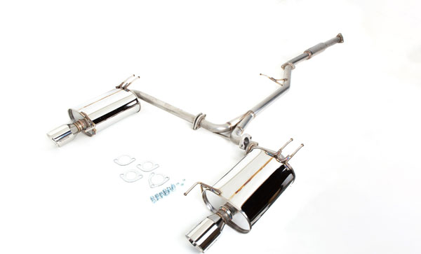 Revel T70093R | Medalion Touring Exhaust Acura TSX; 2004-2008