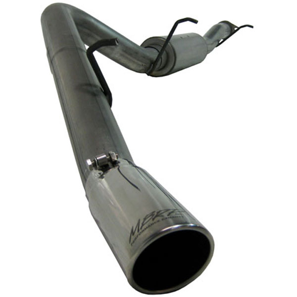 MBRP Exhaust S5032AL | MBRP Escalade / Yukon / Tahoe / Yukon Denali, 6.2L Cat Back, Single Side Aluminized; 2007-2010