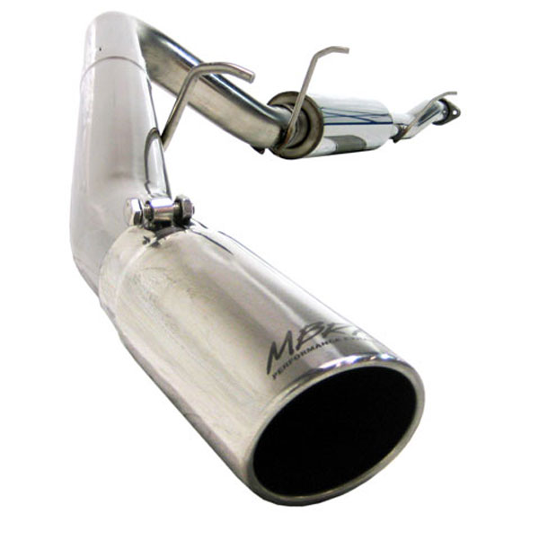MBRP Exhaust S5042409 | MBRP GM Yukon XL / Avalanche 5.3/6.0 L Cat Back, Single Side; 2007-2008
