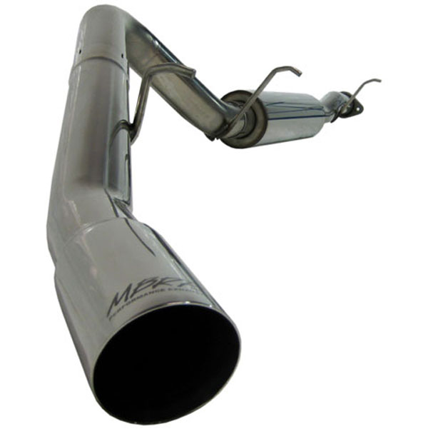 MBRP Exhaust S5044304 | MBRP GM Yukon/Chev Tahoe 5.3 L Cat Back, Single Side; 2007-2008