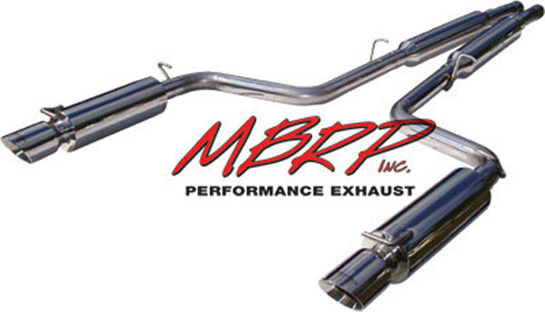 MBRP S7100304:  Cat Back Dual Exhaust Dodge 300C / Magnum / Charger - 5.7L Hemi