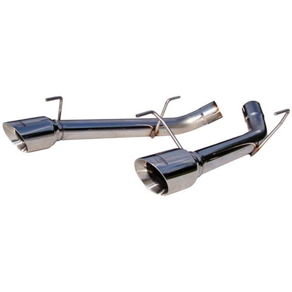 MBRP Exhaust S7202304 | MBRP Dual Axle Back System, Split Rear (no mufflers) 2005-10 Mustang GT V8