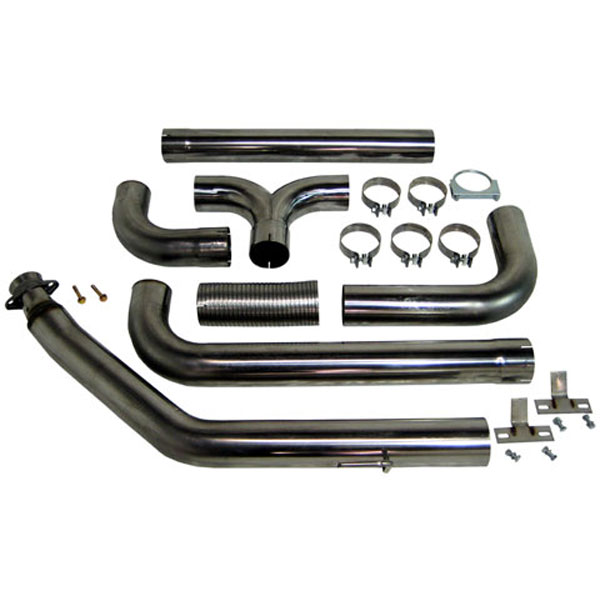 MBRP (S8100409)  Dodge 94-02 Cummins Turbo Back Dual Stack