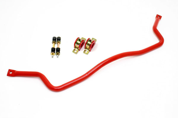 BMR Suspension SB001R | BMR Front 35mm sway bar w/bushings, Camaro V8 / V6 Red; 1993-2002