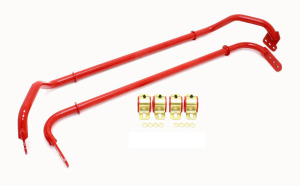 BMR Suspension SB030 | BMR Sway Bar Kit Adjustable With Bushings Front (SB016) And Rear (SB017) for 2010-11 Camaro