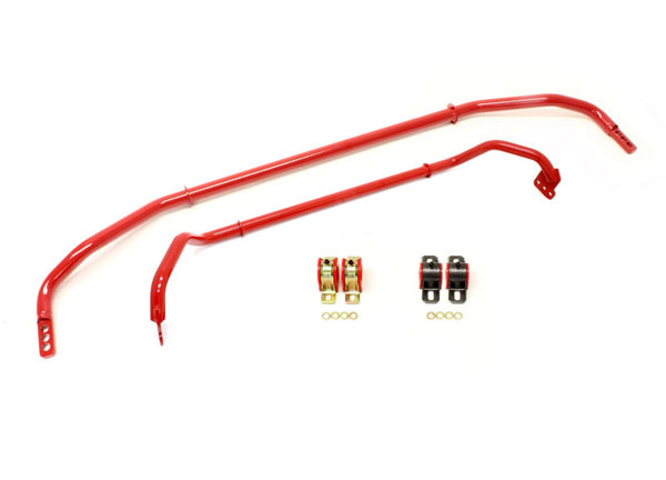 BMR Suspension SB037 | BMR Sway Bar Kit Adjustable With Bushings Front (SB016) And Rear (SB033) for Camaro; 2012-2012