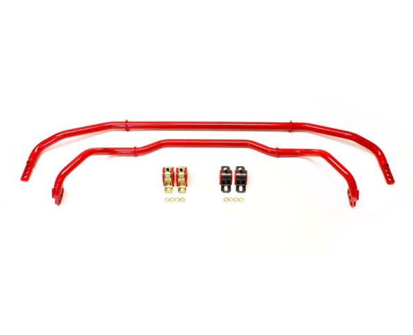 BMR Suspension SB039 | BMR Sway Bar Kit Adjustable With Bushings Front (SB038) And Rear (SB033) for Camaro; 2013-2015