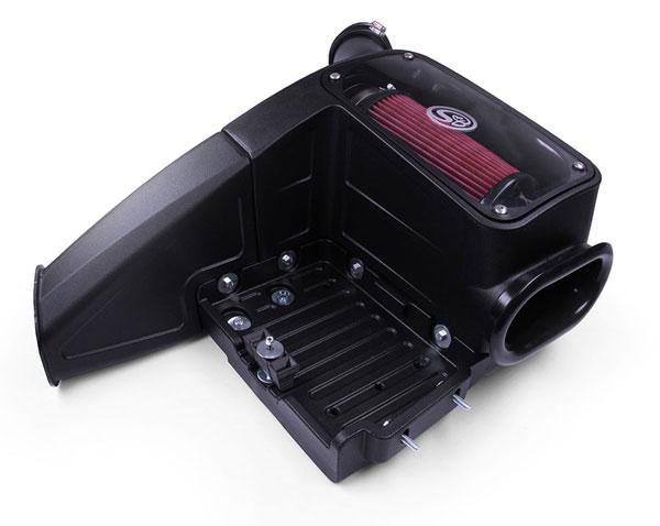 S&B Filters 75-5062 | S&B Cold Air Intake Ford F250 / F350 / F450 / F550 V8-7.3L Powerstroke (Cotton Filter); 1998-2003