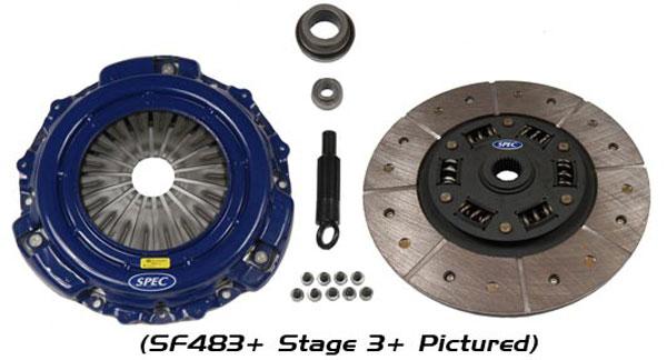 SPEC Clutch SC663F | Stage 3+ - Chevy Camaro 6.2L SS - SPEC Style; 2010-2015