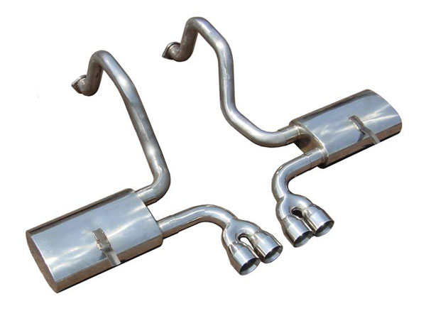 Pypes Exhaust SCC51VS: Pypes 1997-2004 C5 Corvette 2.5'' w/ Violator Mufflers & Dual Tips