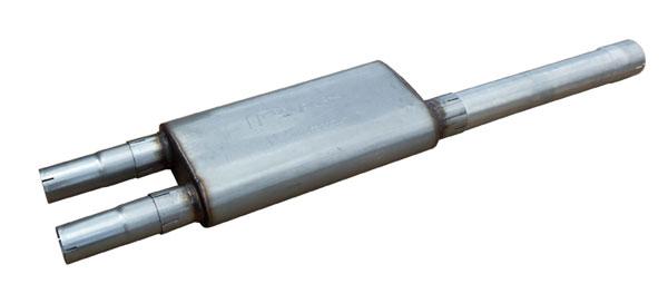 Pypes Exhaust SDT21V | Pypes RAM Hemi Violator Muffler Kit; 2009-2017