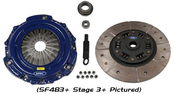 SPEC Clutch (SF873F)  Stage 3+ - Ford Mustang 1999-2004 4.6L Cobra, MACH