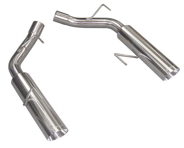 Pypes Exhaust SFM60MS: Pypes 2005-10 Mustang Pype-Bomb Axle Back Exhaust System V8