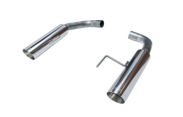 Pypes Exhaust SFM81MS | Pypes Mustang GT Pype Bomb Axle Back; 2015-2017