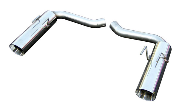 Pypes Performance Exhaust SGF53: Pypes 2010-14 Camaro V8 Pype-Bomb Axle Back Exhaust System