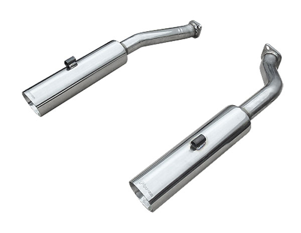 Pypes Exhaust SGP2005: Pypes GTO Pype Bomb Axle-Back 2005-06