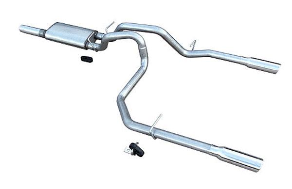 Pypes Exhaust SGT29V | Pypes GM 1500 Series System 5.3L 2010-17 w/ Violator Muffler