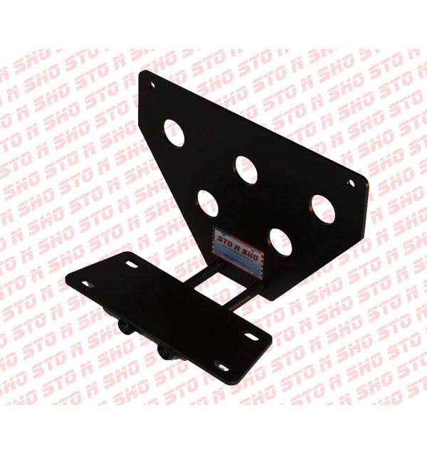 STO N SHO SNS12 |  Mitsubishi Lancer Evolution Removable Liscense Plate Bracket; 2012-2013