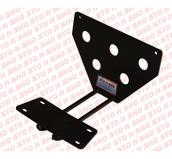 STO N SHO SNS22:  2013 Ford Taurus SHO Removable Liscense Plate Bracket