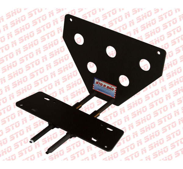 STO N SHO SNS3 |  Ford Mustang GT/V6 Removable Liscense Plate Bracket; 2005-2009