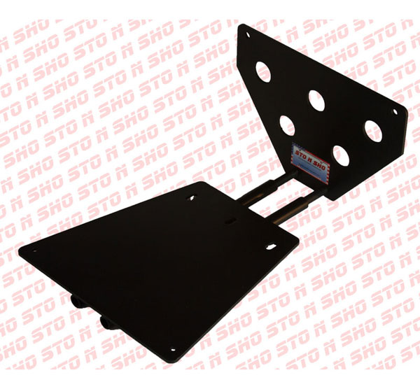 STO N SHO SNS6a:  2013 Ford Shelby (with chin splitter) Removable Liscense Plate Bracket
