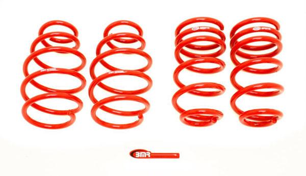 BMR Suspension SP019 | BMR Lowering Spring Kit 1.0 inch Drop Camaro Set of 4 Red; 2010-2015