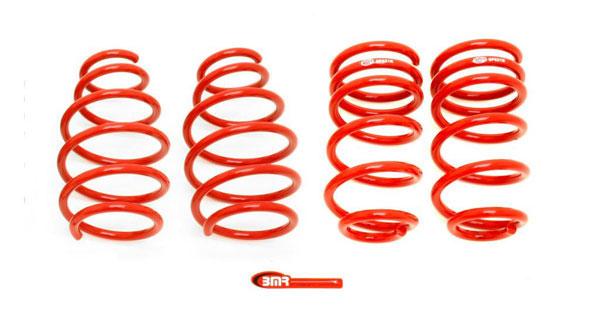 BMR Suspension SP025 | BMR Lowering Spring Kit 1.4 inch Front 1.0 inch Rear Drop Camaro 2010-15 Set of 4
