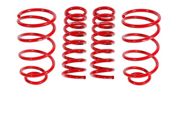 "BMR Suspension SP032 | BMR A-Body Lowering Spring Kit, Set Of 4, 1.0"" Drop Red; 1964-1966"