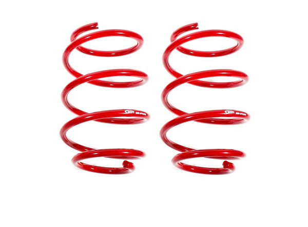 BMR Suspension SP042 | BMR Camaro Lowering Springs Performance Version, Front Red; 2016-2018
