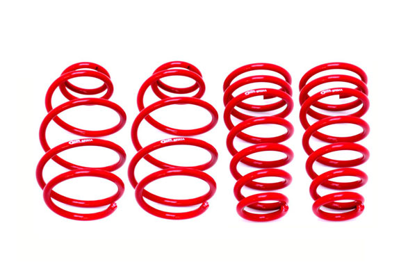 BMR Suspension SP052R | BMR Camaro V6 1.2 inch Lowering Springs Front and Rear; 2010-2015