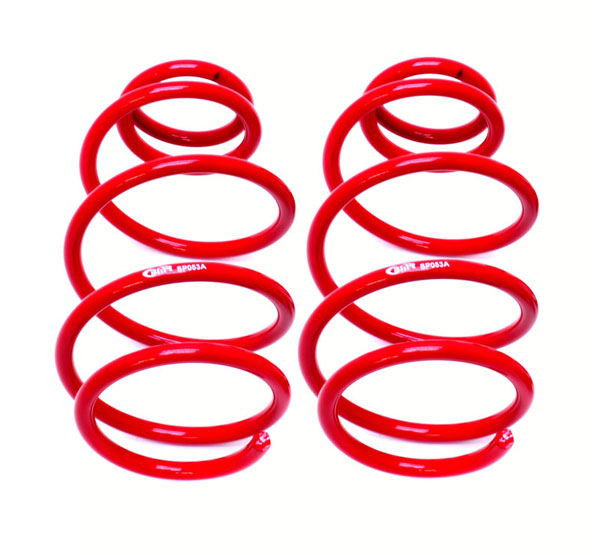 BMR Suspension SP053R: BMR Camaro 2010-2015 V6 Lowering springs, front, 1.2inch drop, 200 spring rate
