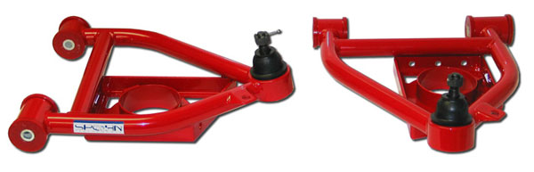 Spohn Performance 732-4130 | SPOHN Tubular A-Arms w/bushings/spring boxes Camaro - CM V8; 1982-1992