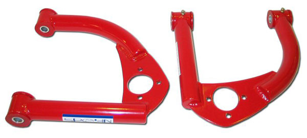 Spohn Performance 742-4130: Spohn Upper A-Arms w/bushings 1993-02 Camaro Chrome Moly w/o ball joints V8 / V6
