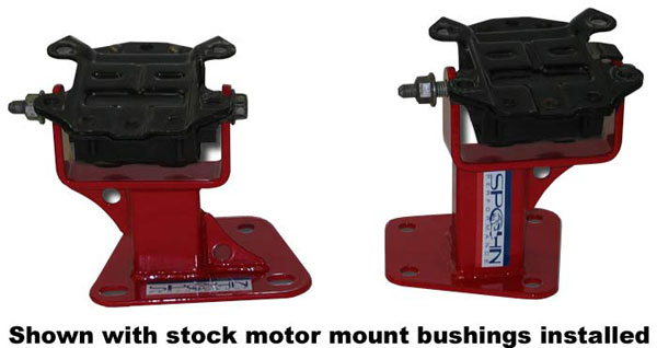 Spohn Performance 997 | Spohn LSx Lightweight Motor Mount Bushing Stands for Camaro V8; 1998-2002