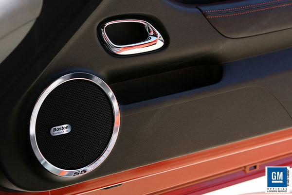 Sparks Restorations SR-SRPSS | 2010 & Up Chevy Camaro Speaker Ring Polished w/Black SS By Sparks USA
