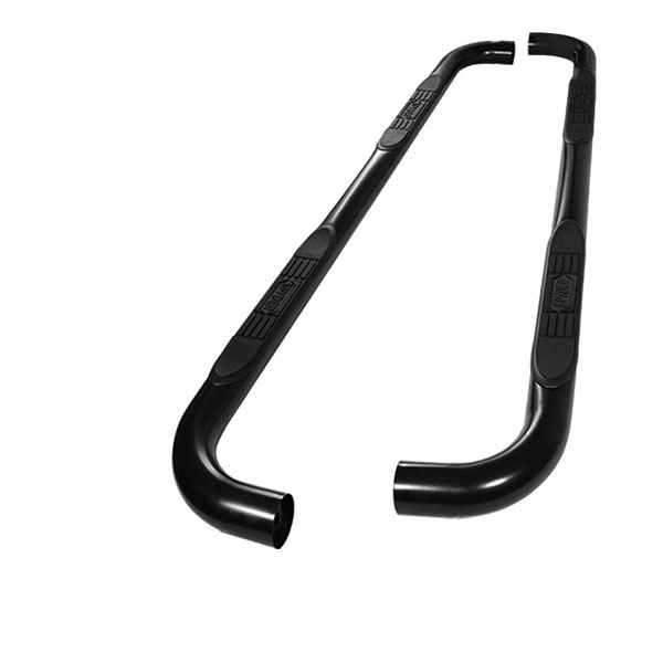 xTune SSB-CSUB-A07S0420-BK |  Chevrolet Suburban 2500 (Excluding Z-71 Model) 00-12 / GMC Yukon XL 2500 (Excluding Z-71 Model) - 3 Inch Round Side Step Bar - Powder Coated - Black