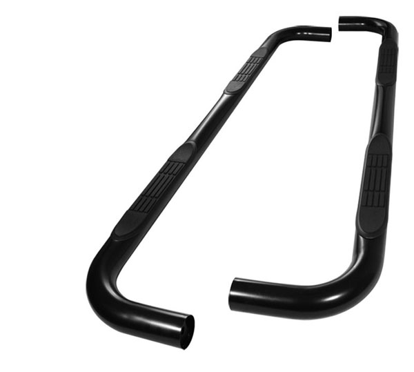 xTune SSB-FE-A07S0519H-BK:  Ford Explorer 4DR 06-10 - 3 Inch Round Side Step Bar - Powder Coated - Black