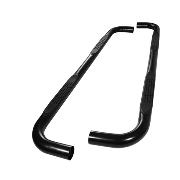 xTune SSB-FE-A07S0526-BK |  Ford Expedition 4Dr ( Drilling Required On Models ) - 3 Inch Round Side Step Bar - Powder Coated - Black; 1997-2002
