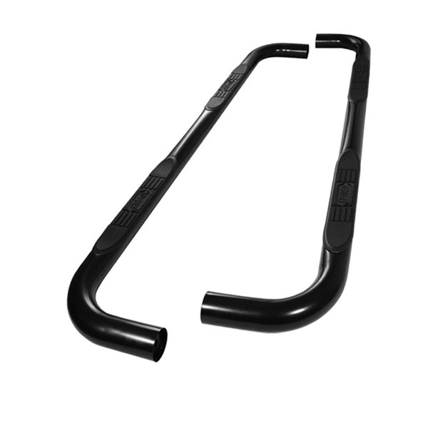 xTune SSB-FF-A07S0503H-BK:  Ford F150 SuperCrew Cab 04-08 - 3 Inch Round Side Step Bar - Powder Coated - Black